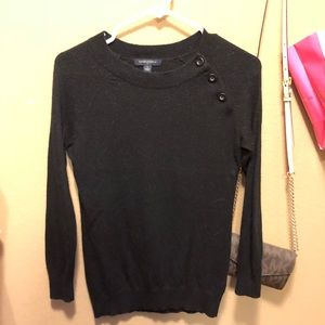 Black Banana Republic 3/4 Sleeve Sweater